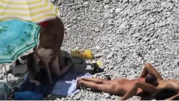 nakkemassage sex på stranden